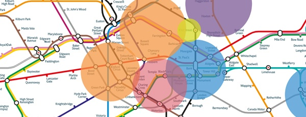 Interactive London Business Map 2